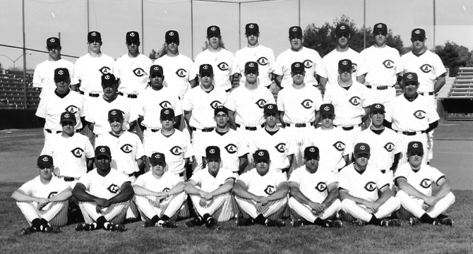 UC Davis Baseball Hall of Fame 1994 Team