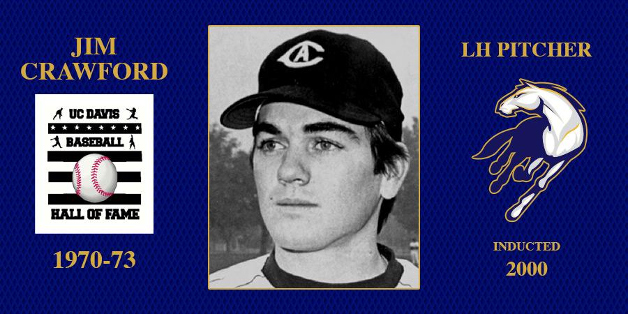 uc davis baseball hall of fame inductee Jim Crawford