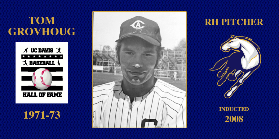 uc davis baseball hall of fame inductee Tom Grovhoug
