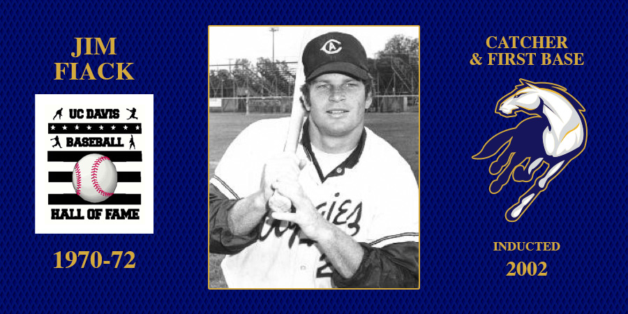 uc davis baseball hall of fame inductee Jim Fiack