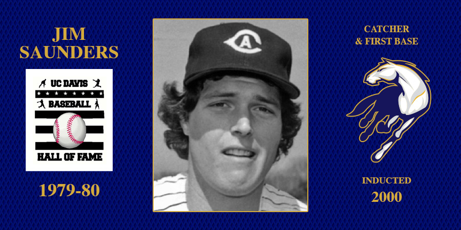 uc davis baseball hall of fame inductee Jim Saunders